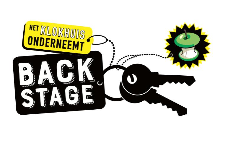 backstage-voorbeeld van beeldmerk